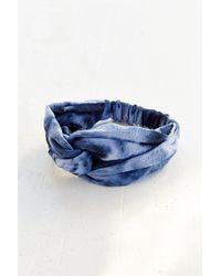 Urban Renewal - Riverside Tool & Dye Shibori Headband - Lyst