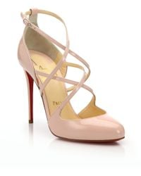 Christian Louboutin | Patent Leather Pumps | Lyst