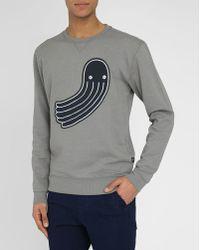 G-Star RAW Grey Cropped Round-Neck T-Shirt - Lyst