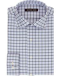 Kors By Michael Kors Regular Fit Check Dress Shirt - Lyst