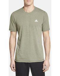 Adidas 'Aeroknit' Short Sleeve T-Shirt - Lyst
