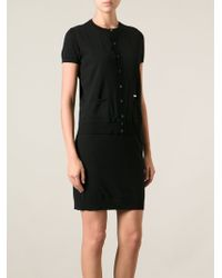 DSquared2 Faux Cardigan Dress - Lyst