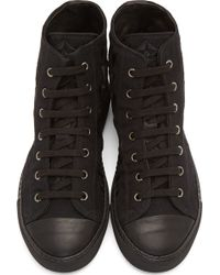 Gareth Pugh - Black Prism_embroidered Baseball Shoes - Lyst
