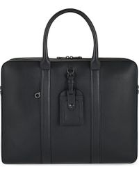 Mulberry Matthew 24 Hour Leather Bag Black - Lyst