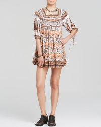 Free People Dress - Snap Out Of It Midsummers Dream Ivory Combo - Lyst