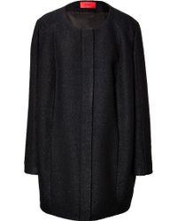 Hugo Wool Sixties Coat - Lyst