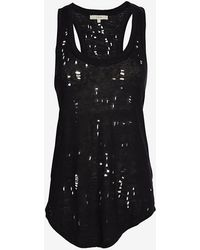 Iro Exclusive Tank with Holes - Lyst
