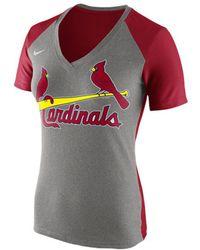 Junk food Women's St. Louis Rams Touchdown Tri-blend T-shirt in ...