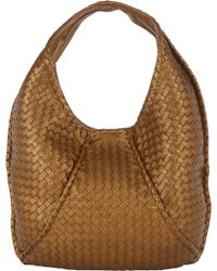 Bottega Veneta Intrecciato Cervo Simple Hobo - Lyst