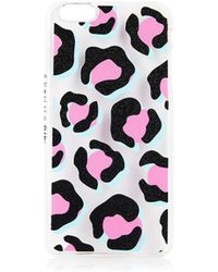TOPSHOP - Leopard Print Iphone 6 Plus Case By Skinnydip - Lyst