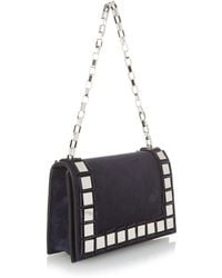Tomasini Paris - ET23 Suede Shoulder Bag - Lyst
