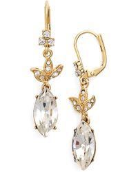 Marchesa Stone Drop Earrings