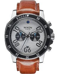 Nixon | Ranger Stainless Steel Chronograph Watch | Lyst