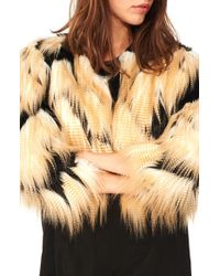 n:PHILANTHROPY - Georgie Faux-Fur Jacket - Lyst