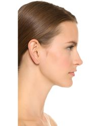 Kristen Elspeth - Bar Ear Pin - Gold - Lyst