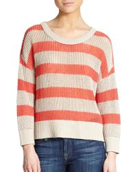 Feel The Piece Candace Striped Sweater - Lyst