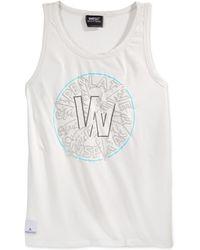 Wesc Palma Tank white - Lyst