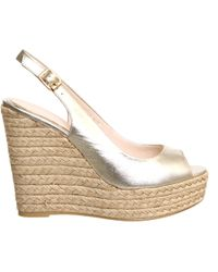 Office Palm Slingback Espadrille Wedge - Lyst