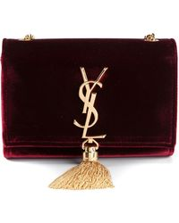 Saint Laurent Monogramme Shoulder Bag - Lyst