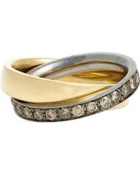 Roberto Marroni Double Ring - Lyst
