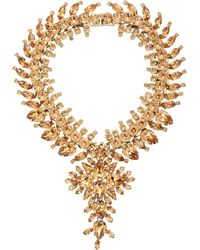 Givenchy Strass Crystal Collar Necklace - Lyst