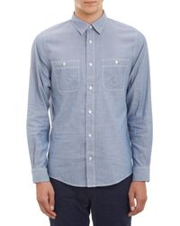 Jack Spade - Doublefaced Chambray Shirt - Lyst