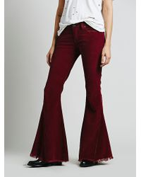 Free People Fp Cord Super Flare - Lyst