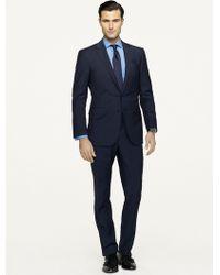 Ralph Lauren Black Label Double Striped Anthony Suit - Lyst