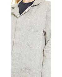 6397 - Work Coat - Faded Grey - Lyst