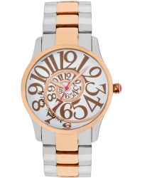 Betsey Johnson - Ladies Rose Gold Spiral Watch - Lyst