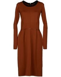 Sonia Rykiel Kneelength Dress - Lyst