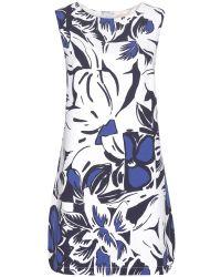 Vanessa Bruno Printed Dress - Lyst