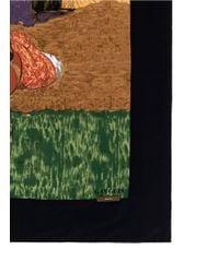 Ibrigu - One Of A Kind Patchwork Painting Silk Scarf - Lyst
