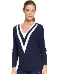 Lauren by Ralph Lauren Cotton Cricket Sweater - Lyst