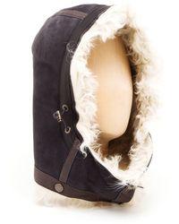 Frauenschuh - Mongolian Lambskin Hood - Lyst