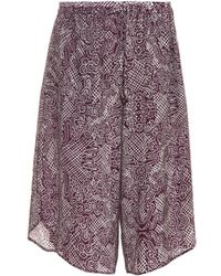 Vivienne Westwood Red Label Spike-Print Culottes - Lyst