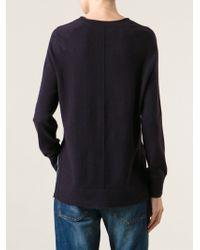 J Brand Side Slit Sweater - Lyst