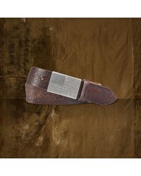 Denim & Supply Ralph Lauren - Flag Plaque Belt - Lyst
