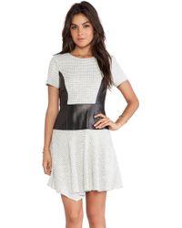 Tibi Whitby Dress - Lyst
