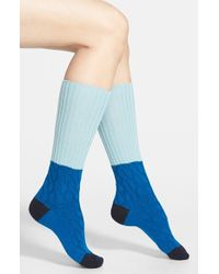 Pantherella 'Clara' Slouchy Wool & Cashmere Blend Boot Socks - Lyst