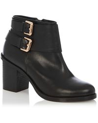 Oasis Erin Buckle Boots - Lyst