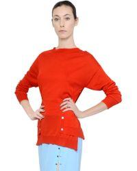 Nina Ricci Wool & Cashmere Blend Sweater - Lyst