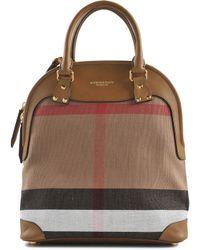 Burberry Prorsum Bloomsbury Medium House Check Bag - Lyst