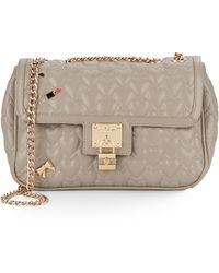 Betsey Johnson | Be My Baby Quilted Shoulder Bag | Lyst