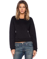 Obey Condor Quilted Pullover - Lyst