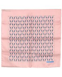 Hermès Pre-Owned Mini Scarf pink - Lyst