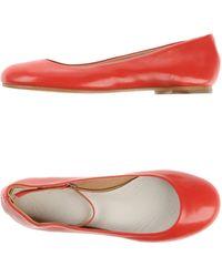 Maison Margiela Ballet Flats - Lyst