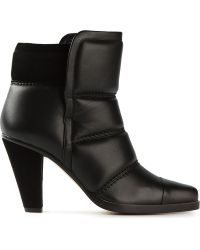 Chloé Padded Boots - Lyst