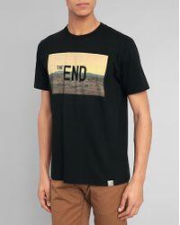 Carhartt Black The End Print T-Shirt - Lyst