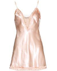Alexander McQueen Satin Dress - Lyst